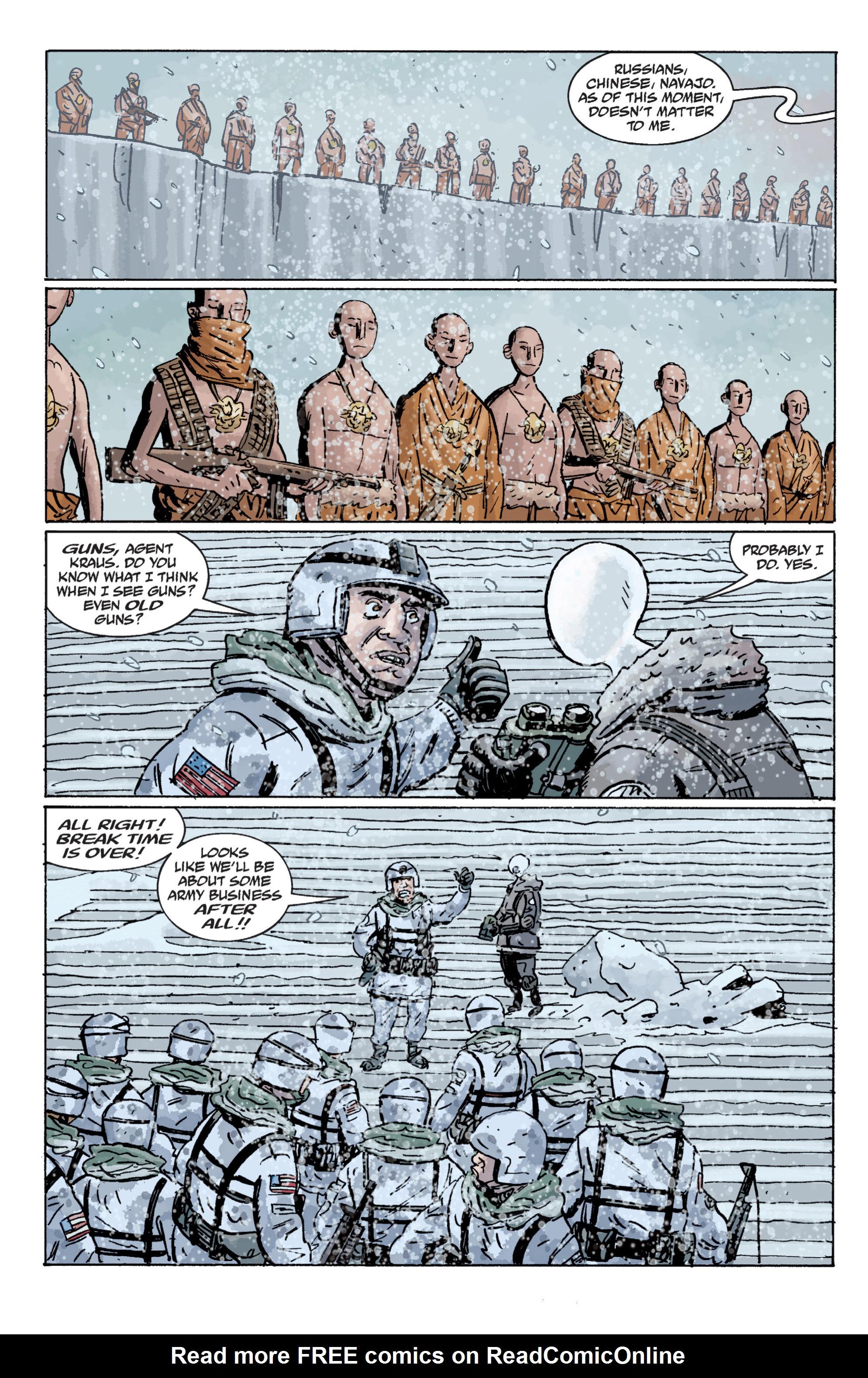 Read online B.P.R.D. (2003) comic -  Issue # TPB 11 - 48