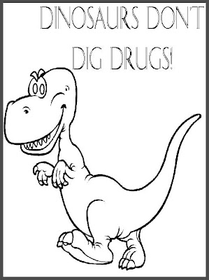 drug awareness coloring pages - drugs coloring pages