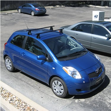 Rack Outfitters Toyota Yaris 3 Door Thule 400xt Lb50