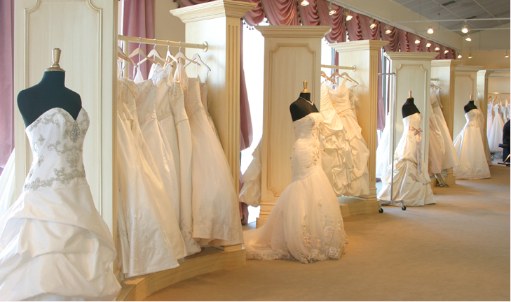 Wedding Dresses Store. an beautiful wedding dress shop in the city ...