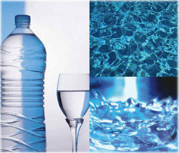 acqua per purificare il corpo