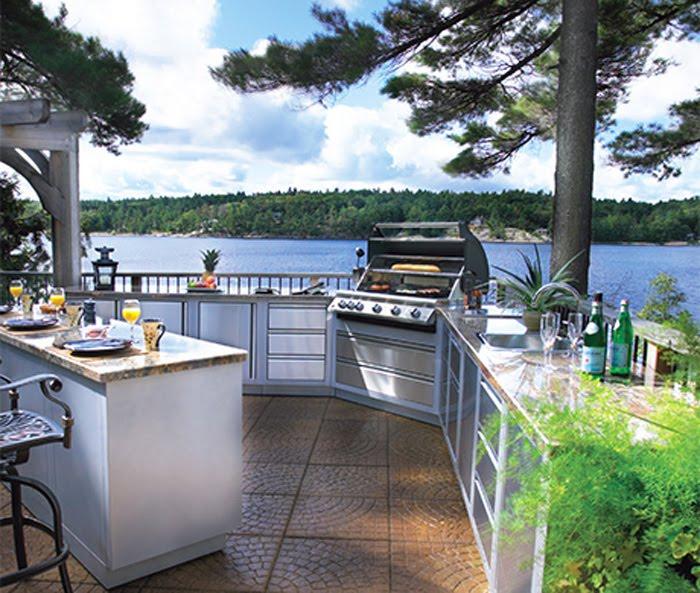 Kitchen Design: Outdoor Kitchen Design Ideas