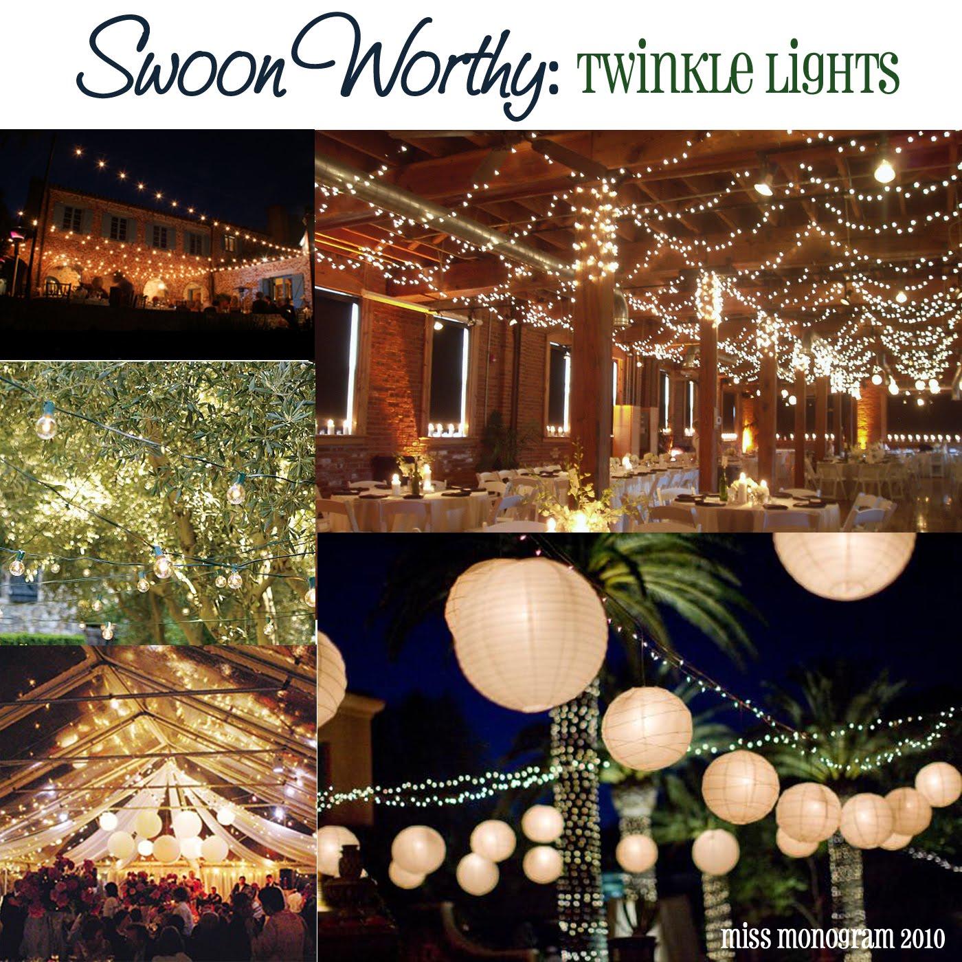 Backyard Twinkle Lights: Swoon Worthy Friday: Twinkle Lights