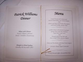 Corporate Event | 8 December 2007 | Shangri-La Hotel, Sydney