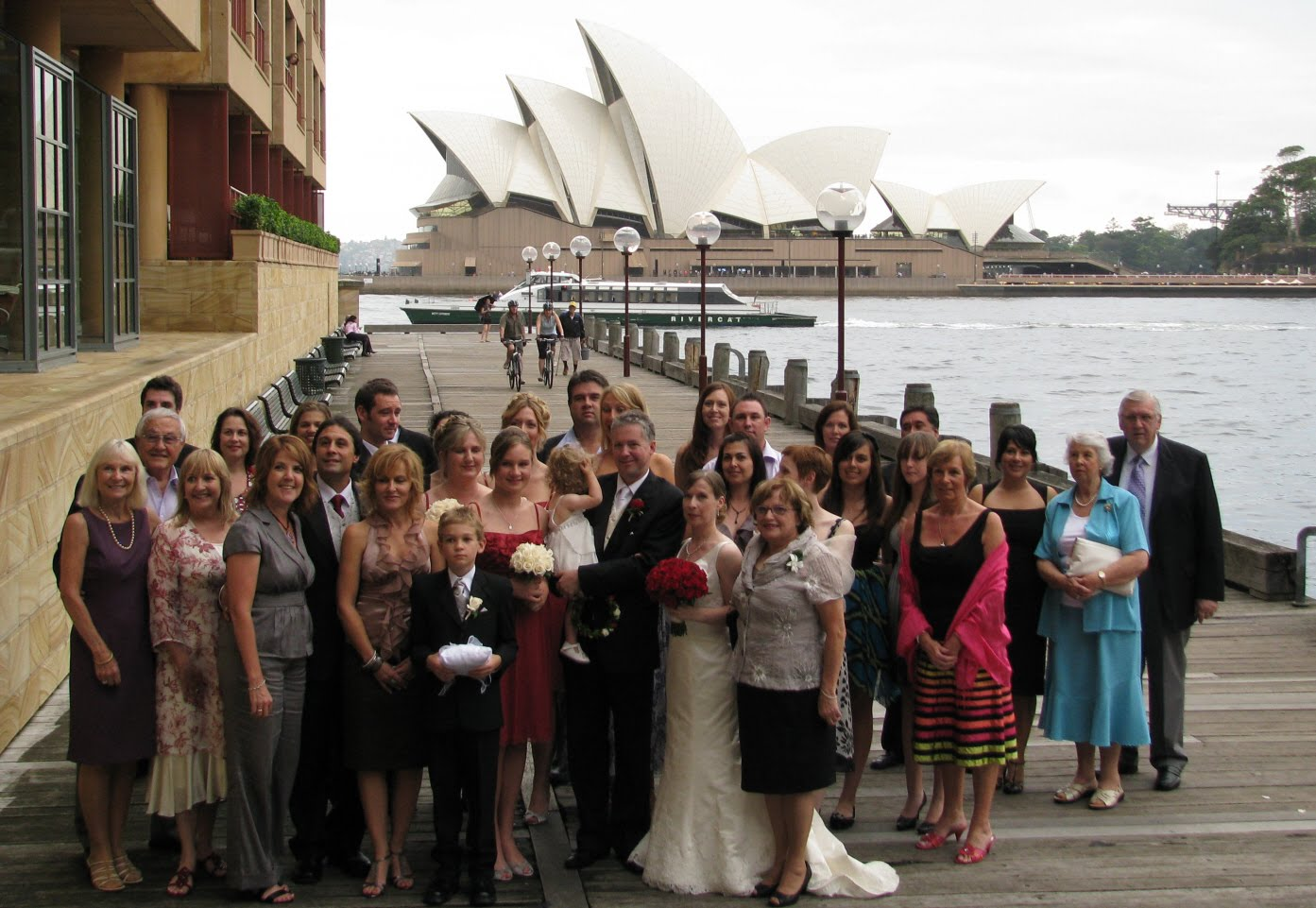 When Guests Returned To The Rooftop Area It Had Been Transformed Into A Beautiful Reception Creating Little Bit Of Paris In Sydney