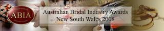 Australian Bridal Industry Awards | 9 December 2008