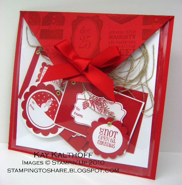 9/9 Tags 'till Christmas Pocket Folio - Stamping To Share