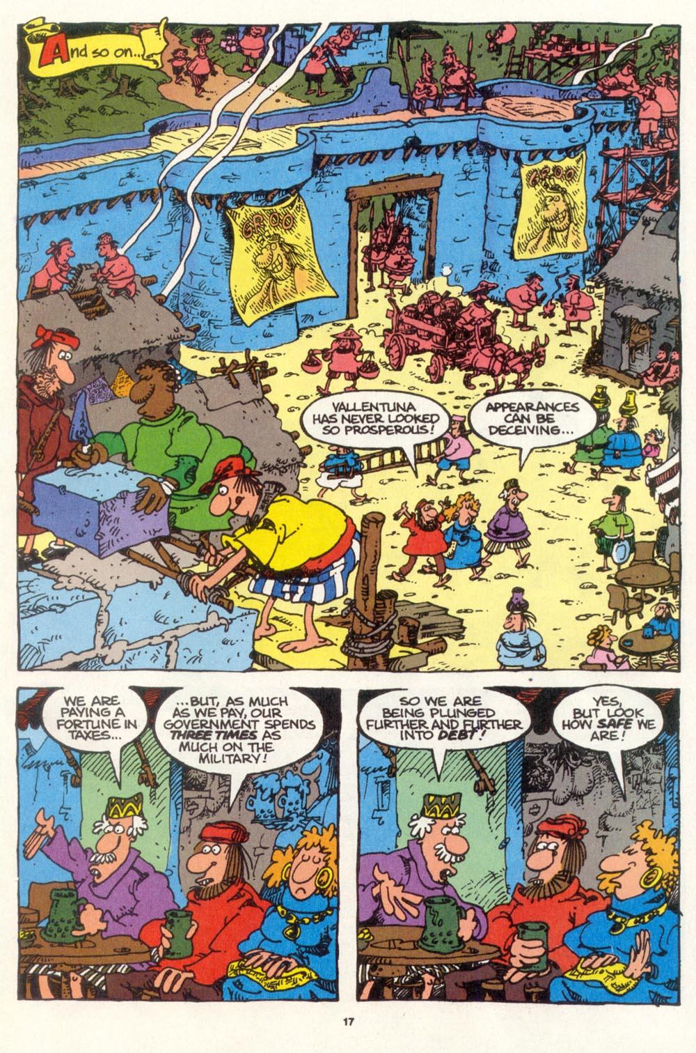 Read online Sergio Aragonés Groo the Wanderer comic -  Issue #109 - 19