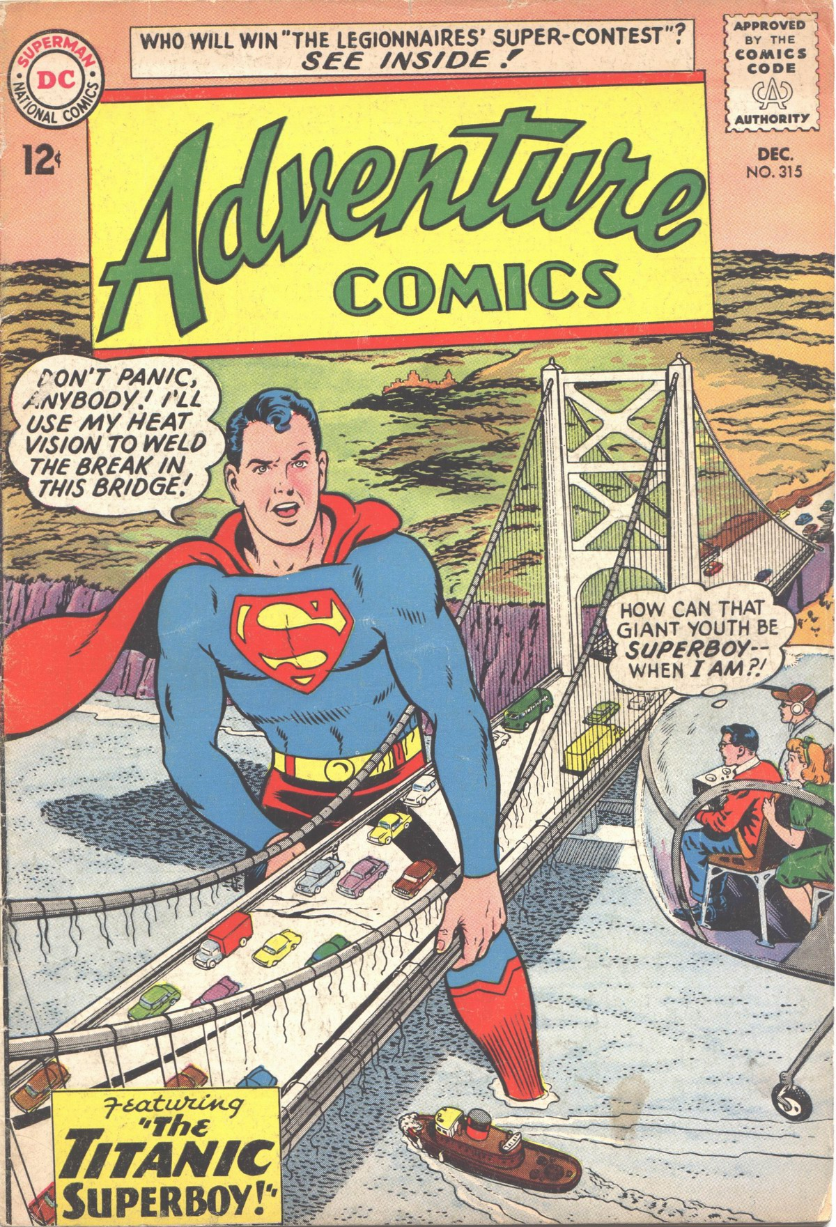 Read online Adventure Comics (1938) comic -  Issue #315 - 1