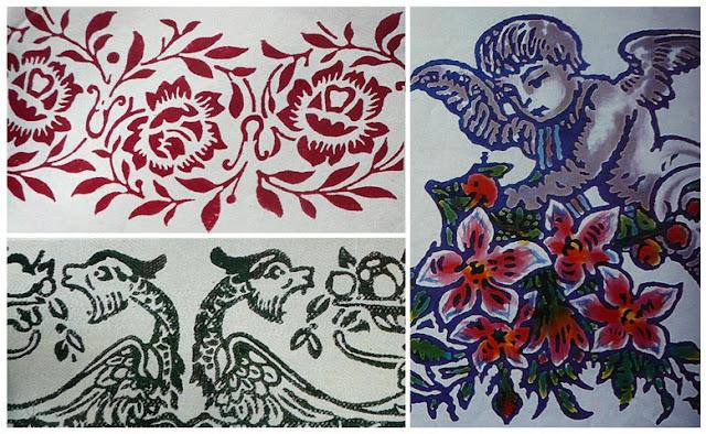 stampa a ruggine, tintori romagnoli, stampa sui tessuti, block printing,