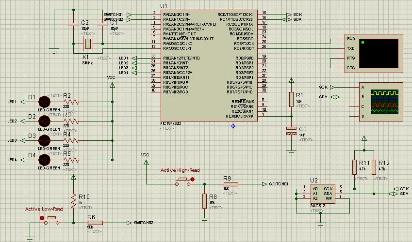 Embedded Systems: Interfacing PIC18F4520 with serial memory