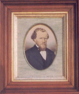 Hand Colored photo of John Thomas Geary