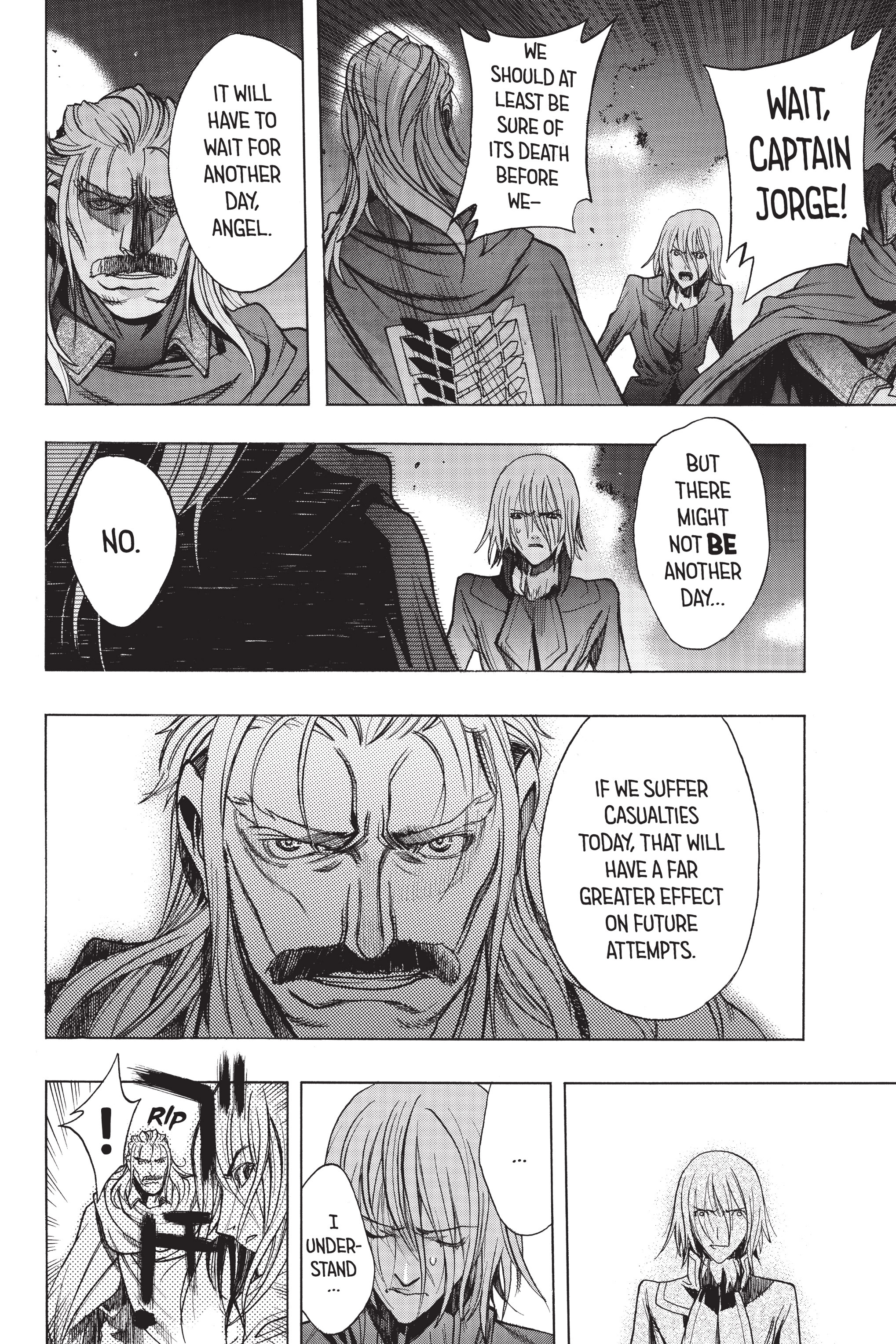 Read online Attack on Titan: Before the Fall comic -  Issue #5 - 190