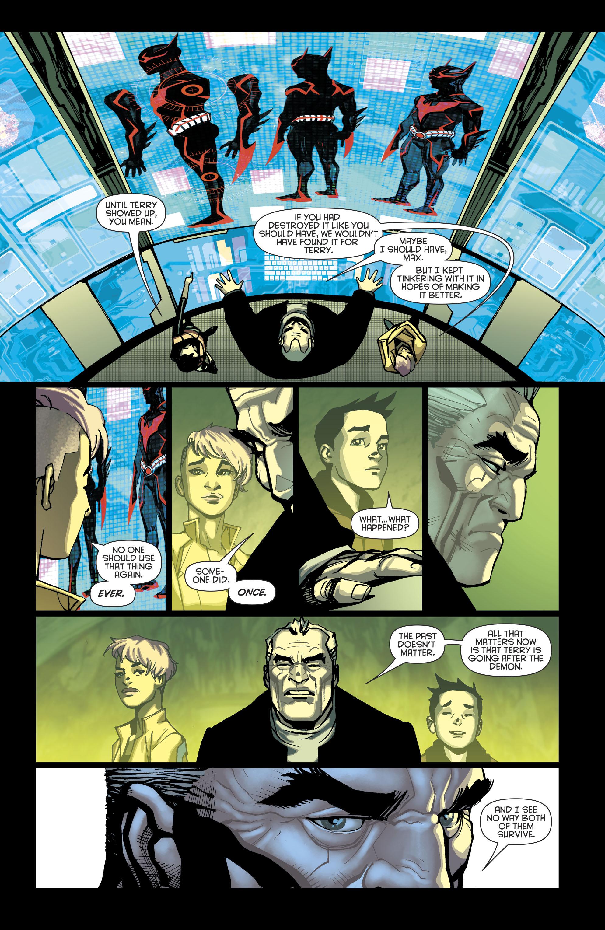 Read online Batman Beyond (2016) comic -  Issue #8 - 14