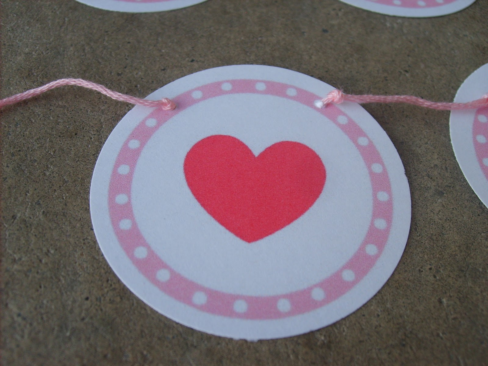 The Red Kitchen Printable Valentine S Banner Matching Game Tags Amp More