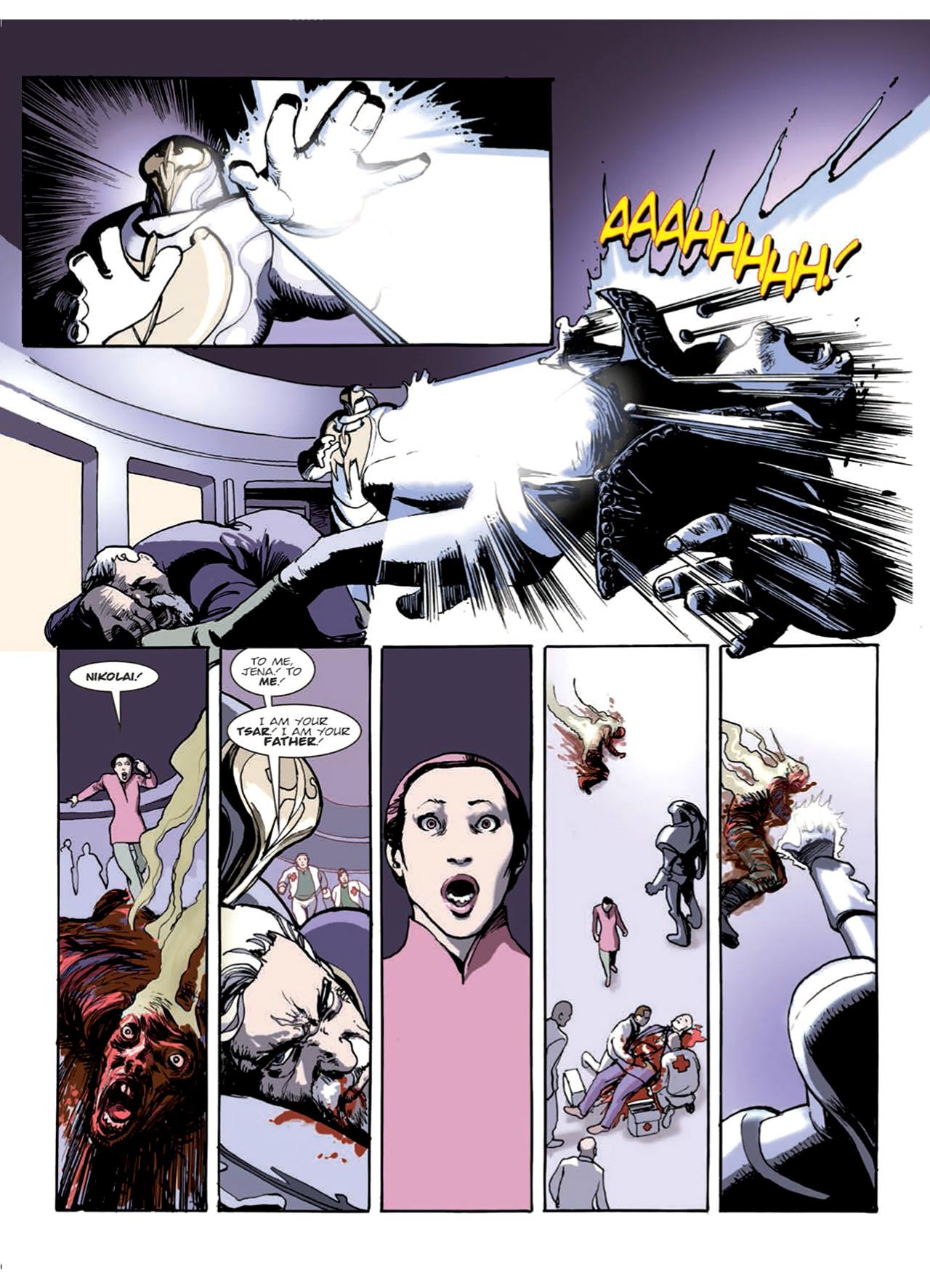 Read online Nikolai Dante comic -  Issue # TPB 9 - 69
