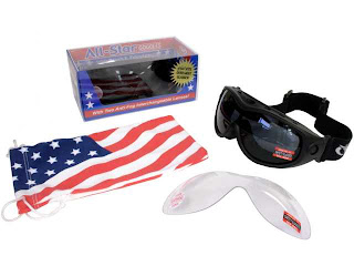 eb72f1a1e3 Global Vision All-Star Interchangeable Smoke Clear Goggle Kit
