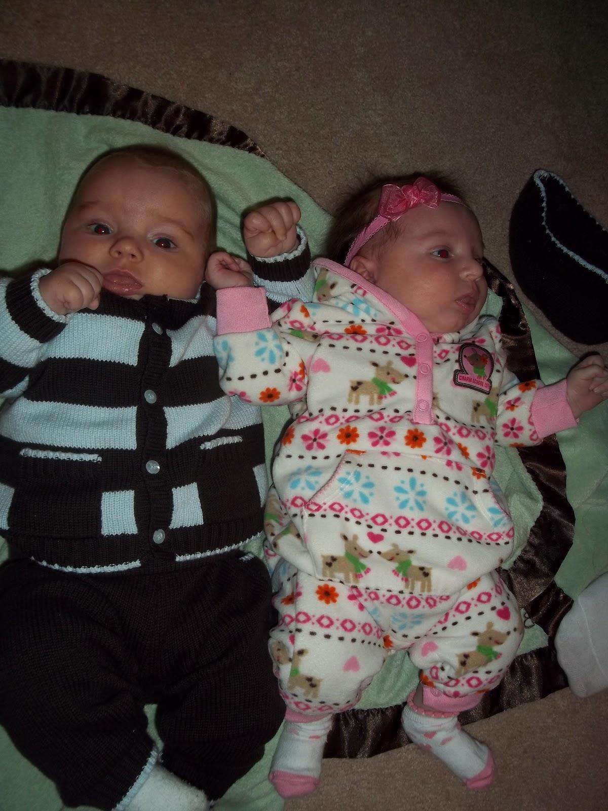 Raising Our Pod Full Of Peas January 2011
