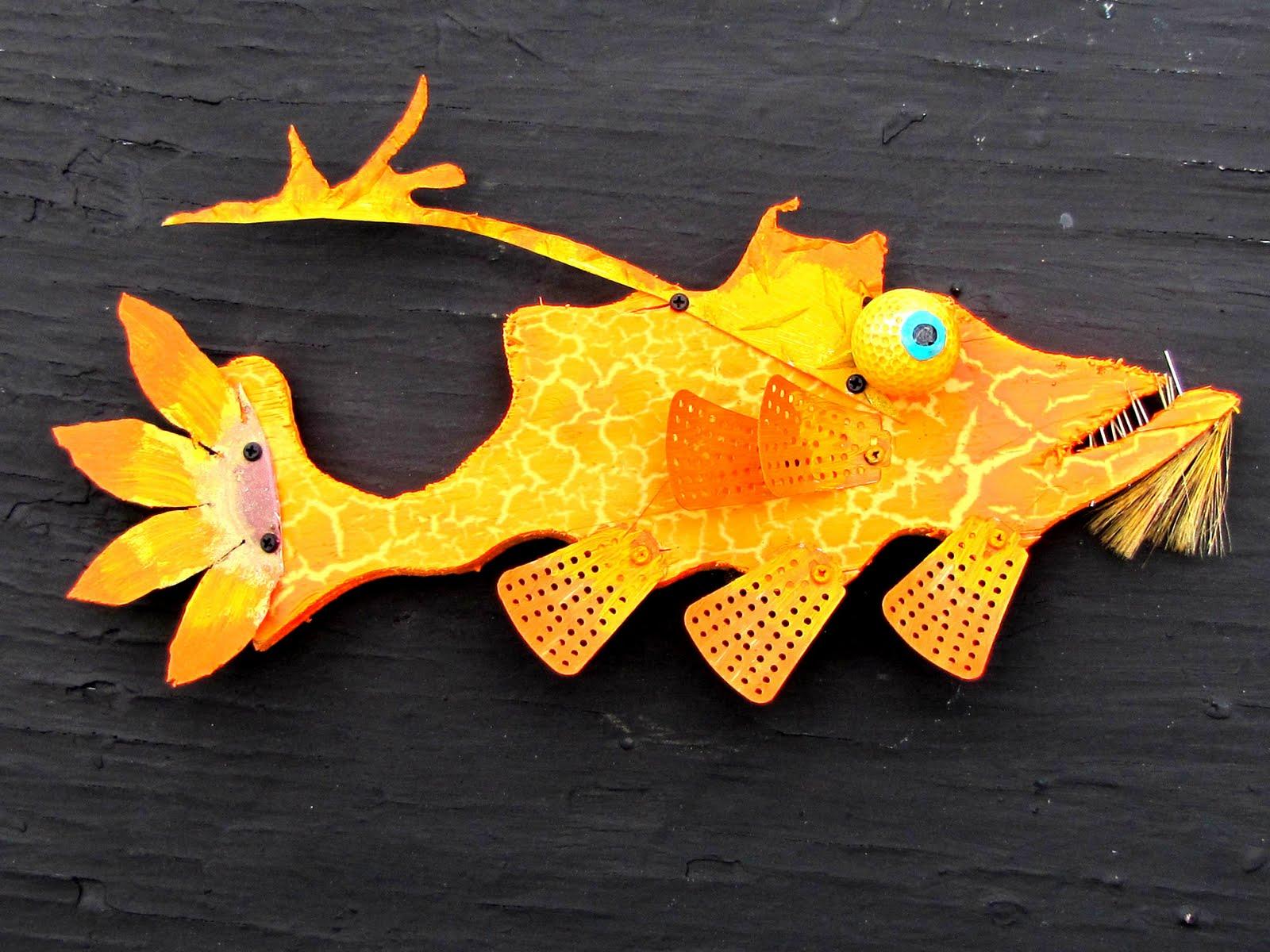 Rodrigos Recycled Art
