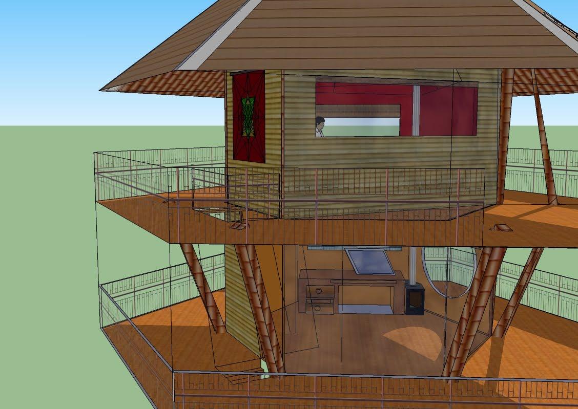 Roman Gabriel Moorish Merkaba Hootch Tree House For Free
