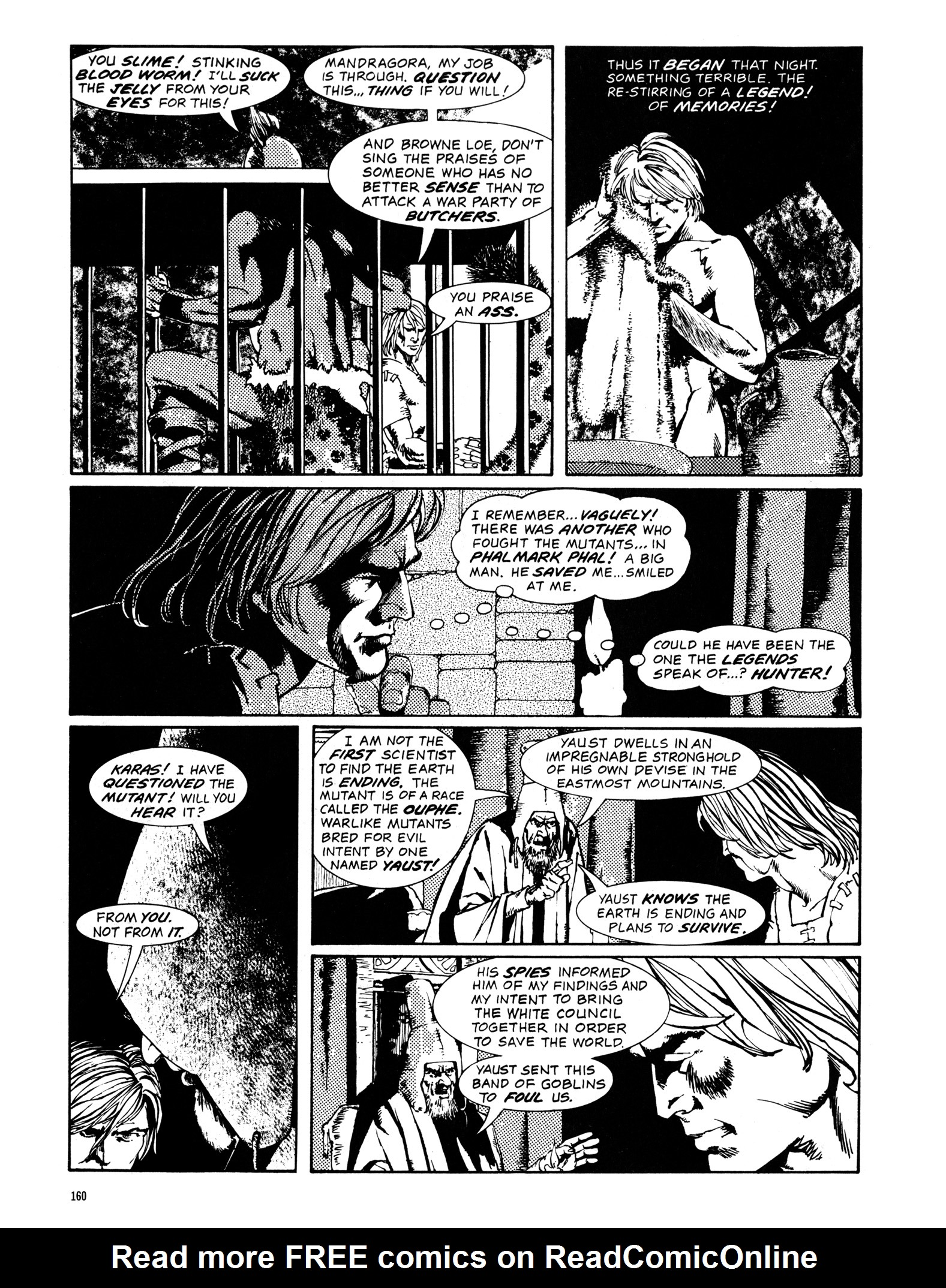 Read online Eerie Archives comic -  Issue # TPB 14 - 161