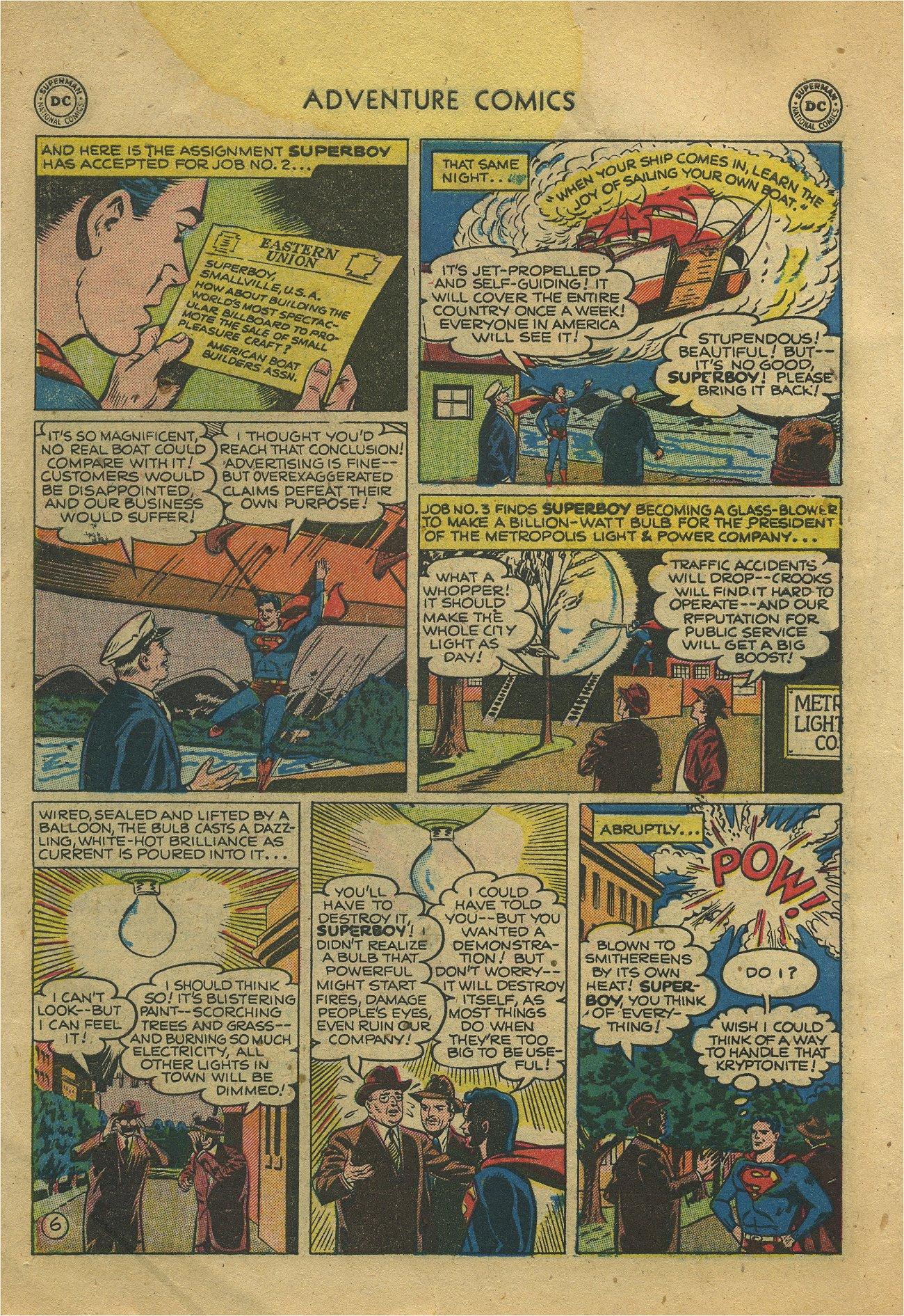 Read online Adventure Comics (1938) comic -  Issue #171 - 8