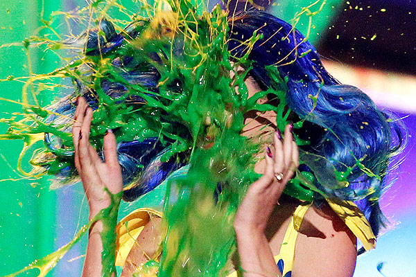 katy perry slimed