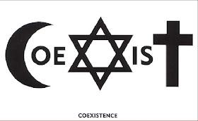 u2 coexist logo bible references