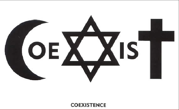 u2 coexist logo bible references