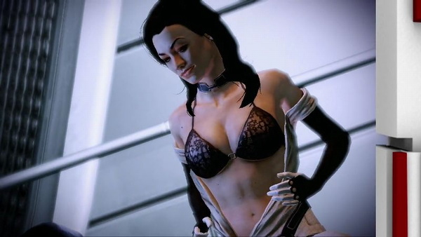 miranda mass effect bra sex scene
