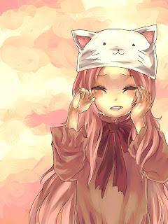 Cute Emo Anime Wallpaper Animes Anime Girl Cabelo Rosa E Roxo