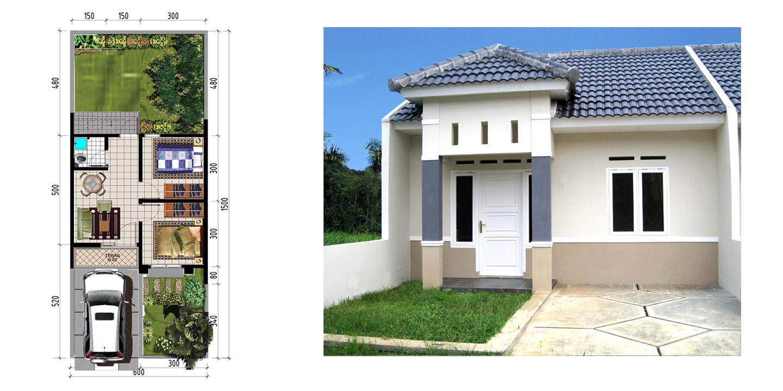 toko baja ringan jatiasih disain rumah: type 36/90 ( harga mulai 150 jutaan )