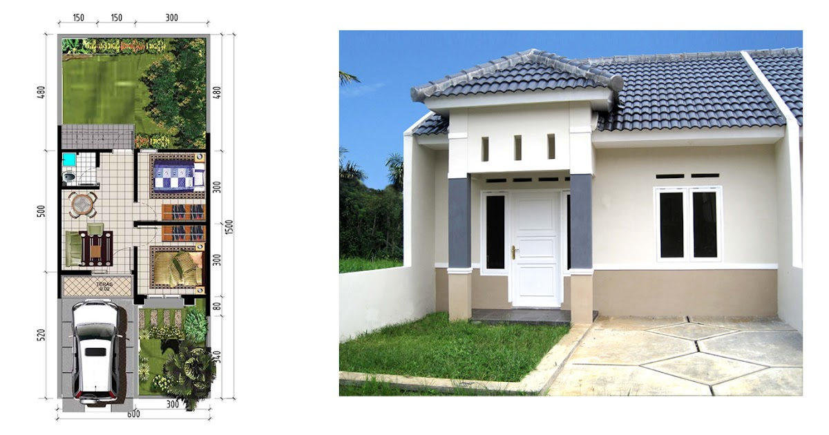 rangka plafon baja ringan minimalis disain rumah: type 36/90 ( harga mulai 150 jutaan )