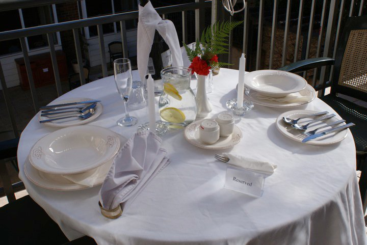 An Aged Care Diary Dining Table Setting Competition