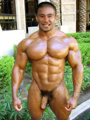 Asian muscle gay sex