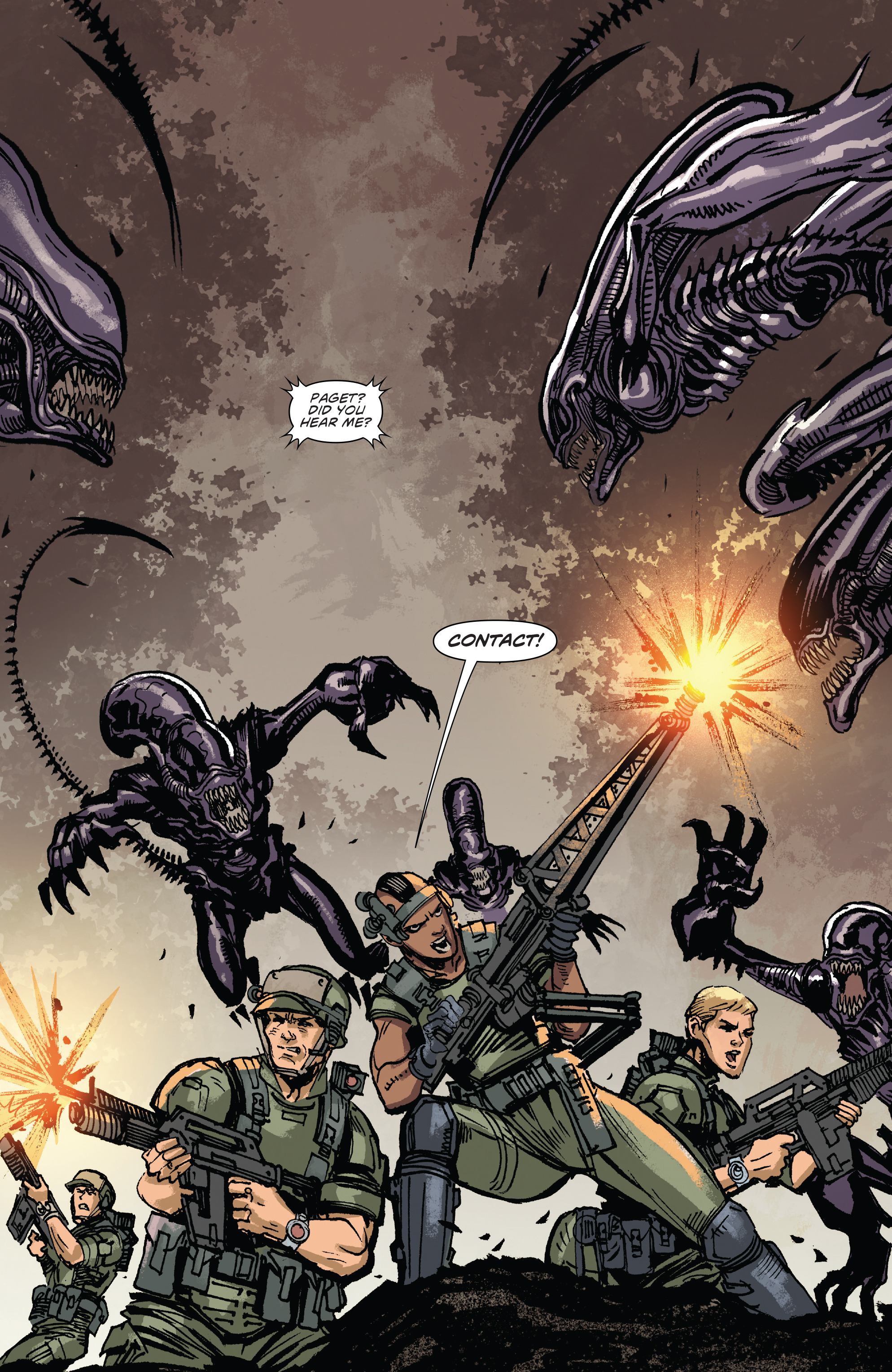 Read online Aliens: Life And Death comic -  Issue #3 - 17