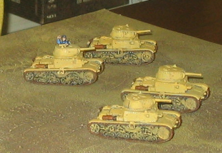 Hodgepodge Lodge: Miniatures: Flames of War Italian Armor