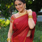Shraddha Arya in Half Saree Cute Photos