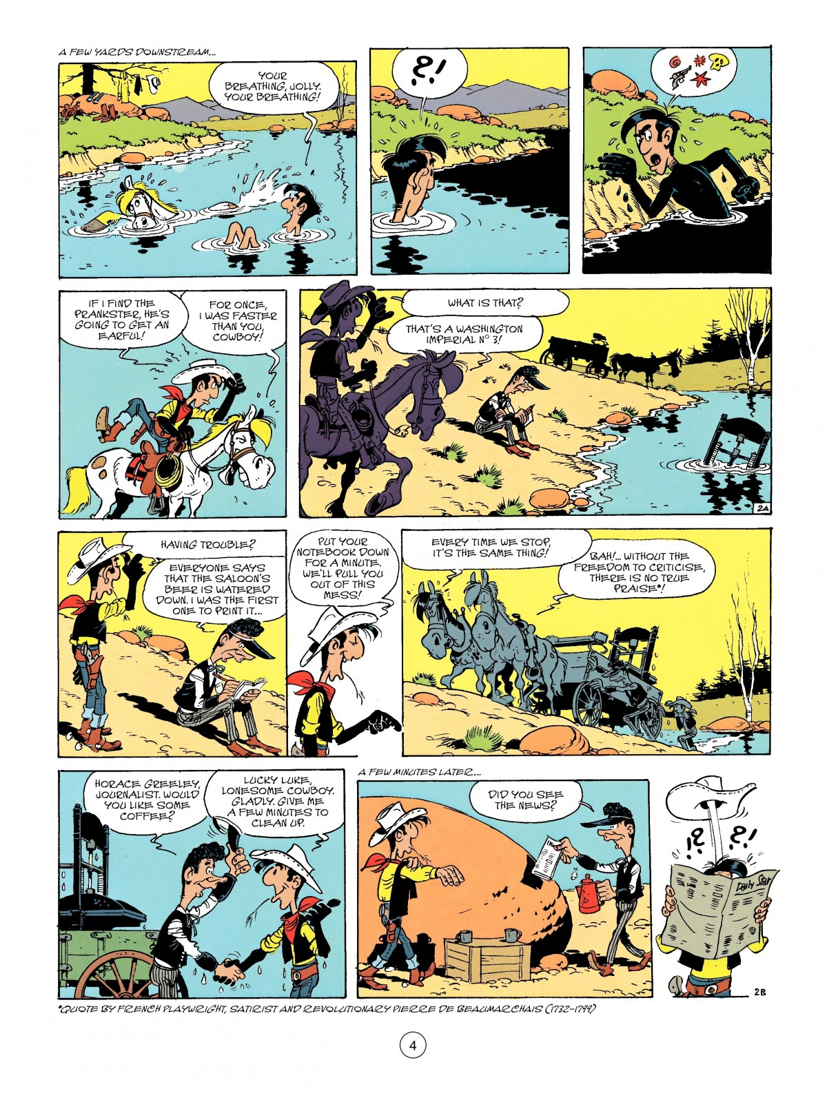 Read online A Lucky Luke Adventure comic -  Issue #41 - 4