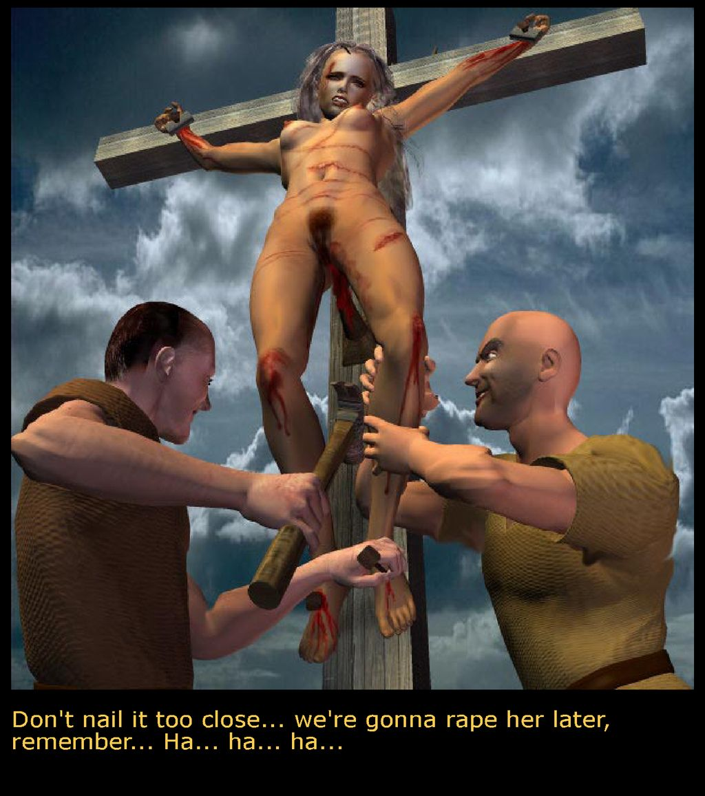 Female crucifixion bdsm can
