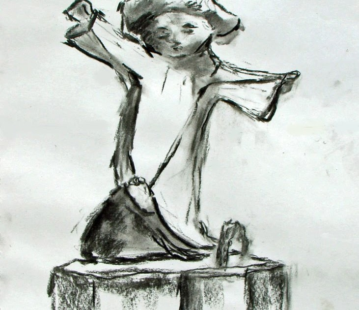 """Wedding White Point Gardens Charleston Sc: Paint Charleston Daily: Charcoal Drawing Of The"""" Little"""