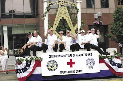 CANTON TRUTH: Ohio Freemasons Reenact Cornerstone Laying Of