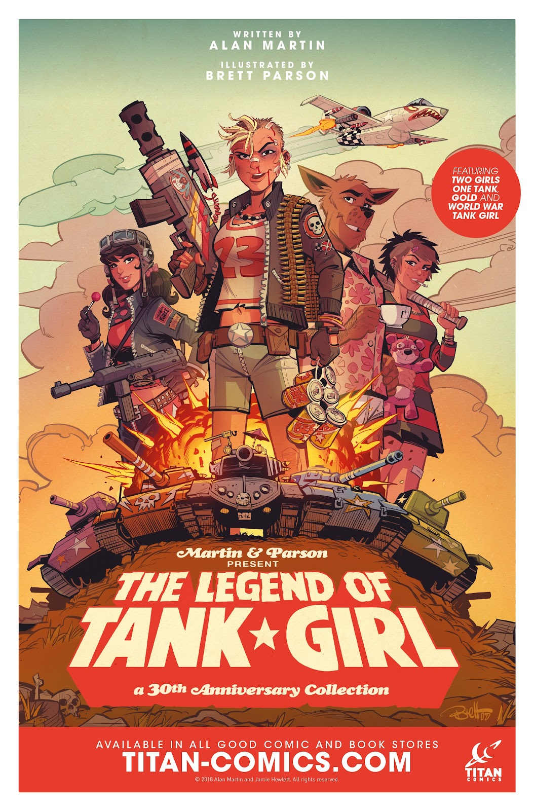 Read online Tank Girl Ongoing comic -  Issue #1 - 26