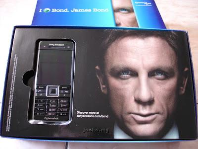 Sony ericsson c902 james bond edition gadgetinn'.
