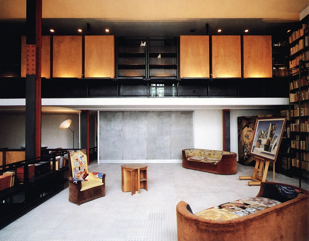 el primer loft moderno la maison dalsace du verre de p. Black Bedroom Furniture Sets. Home Design Ideas
