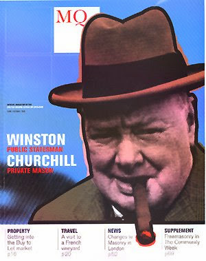 Winston Churchill Freemason Magazine