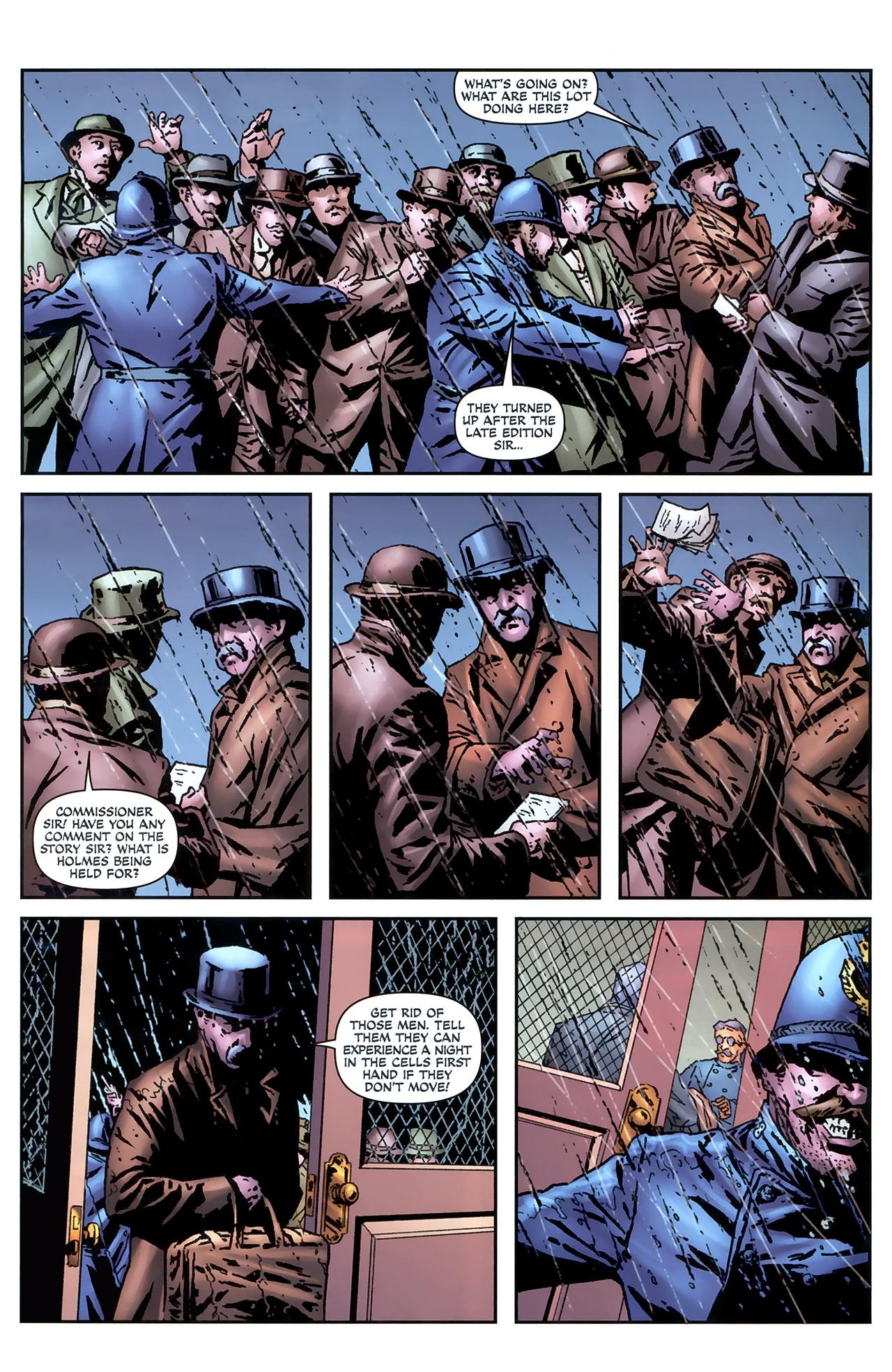 Read online Sherlock Holmes (2009) comic -  Issue #4 - 21