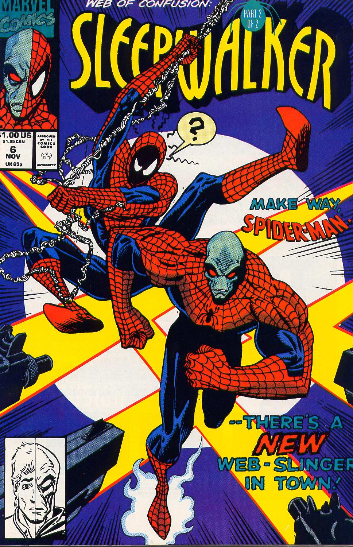 Read online Sleepwalker comic -  Issue #6 - 1