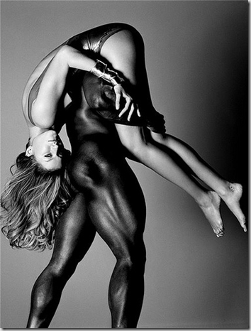 interracial couples kissing