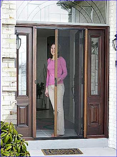 Retractable Screen Doors Home Construction Improvement